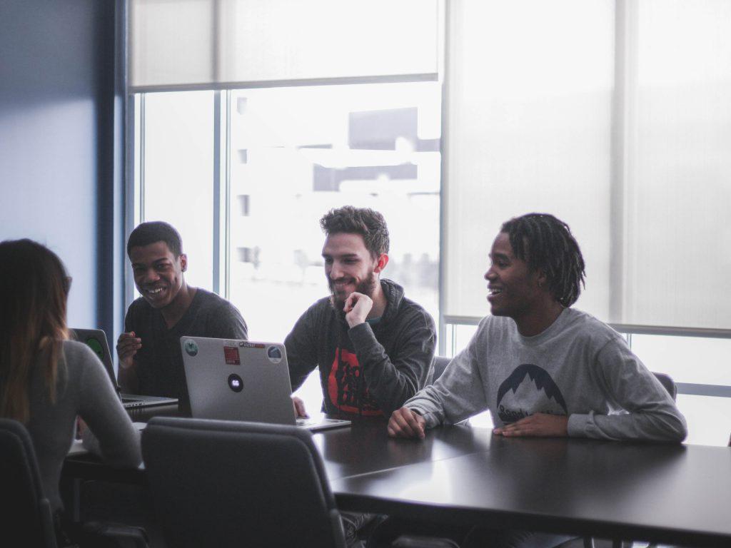 collaborative recruitment team job interview